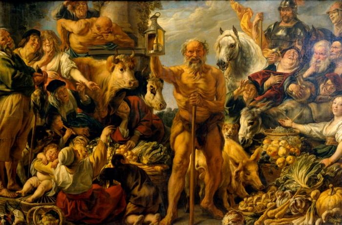 Diogenes de Sinope - Escuela Cínica - Quínico.jpg