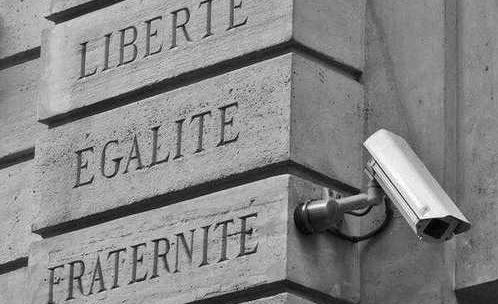liberté egalité fraternité camara vigilancia