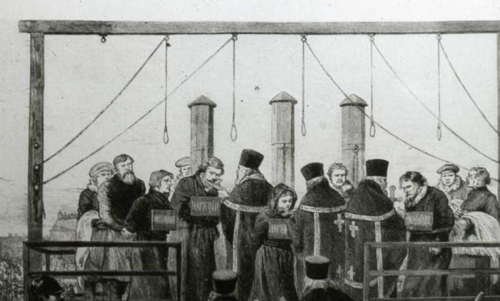 Narodnaya Volya ejecucción asesinos Alejandro II