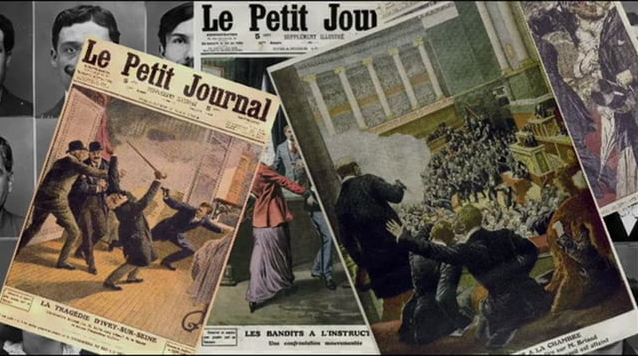 le petit journal ilegalismo anarquista banda bonnot di giovanni expropiadores