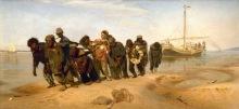 Ilia Repin - Los Sirgadores del Volga