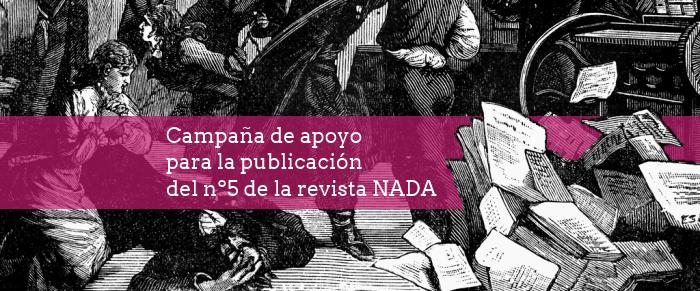Campaña de apoyo para publicar el número 5 de la revista nihilista NADA.png